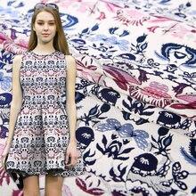 Изысканная ткань с рисунком Женская для платья «сделай сам»