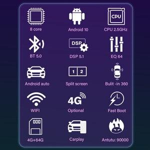 Image 2 - Eunavi 2 Din Android Car Radio Multimedia Player for Toyota Corolla Vios Crown Camry Hiace Previa RAV4 Car auto Stereo GPS Navi