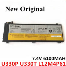 цена на New Original Laptop replacement Li-ion Battery for LENOVO U330 U330P U330T L12M4P61 7.4V 6100mAH
