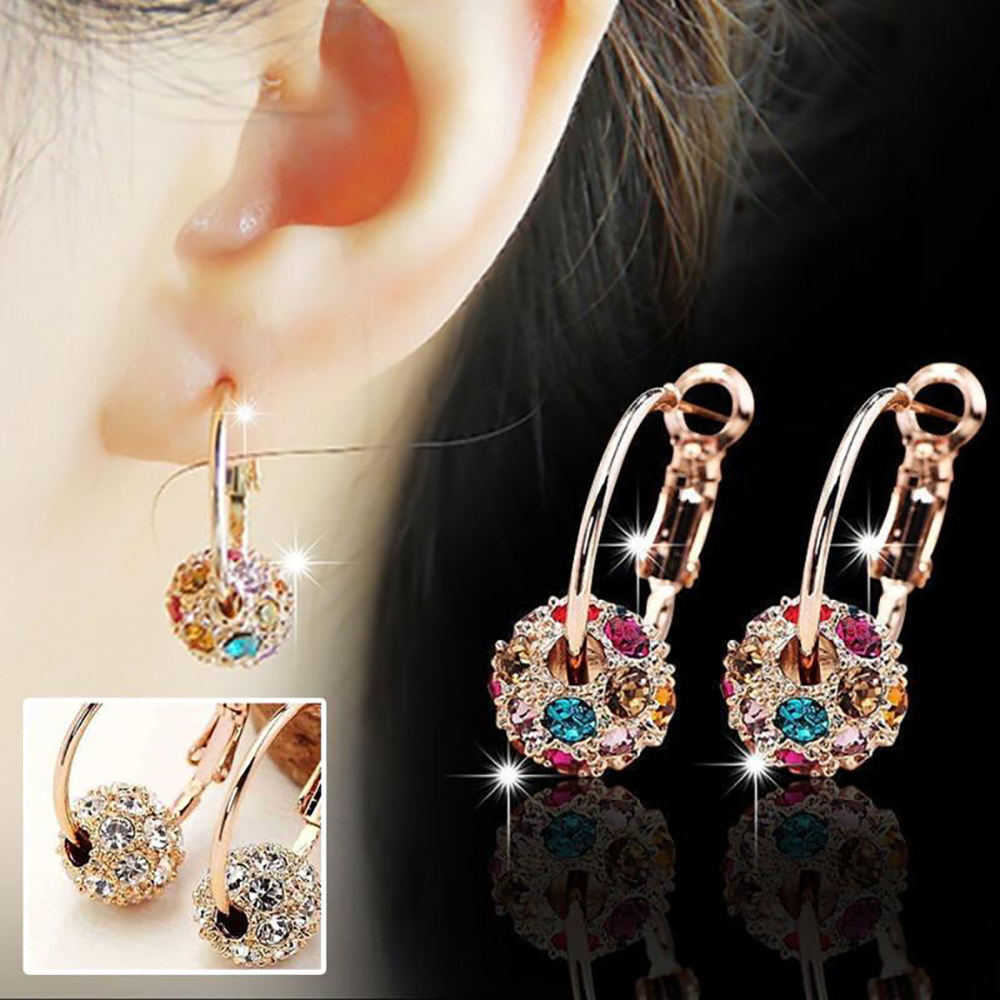 1/2/3Pair Slimming Earrings Women Girls Weight Loss Anti Cellulite Slim Products Ear Studs Health Care Luxury Plated Jewelry 1