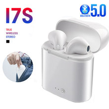 I7s tws bluetooth fone de ouvido estéreo fone de ouvido sem fio bluetooth headhones in-ear fones de ouvido para todo o telefone inteligente
