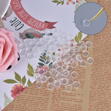 Silicone Eyelash Glue Holder Grafting Eye Lashes Quick Individual Blossom Cup Ring Eye Makeup Extension Adhesive Stand Tools