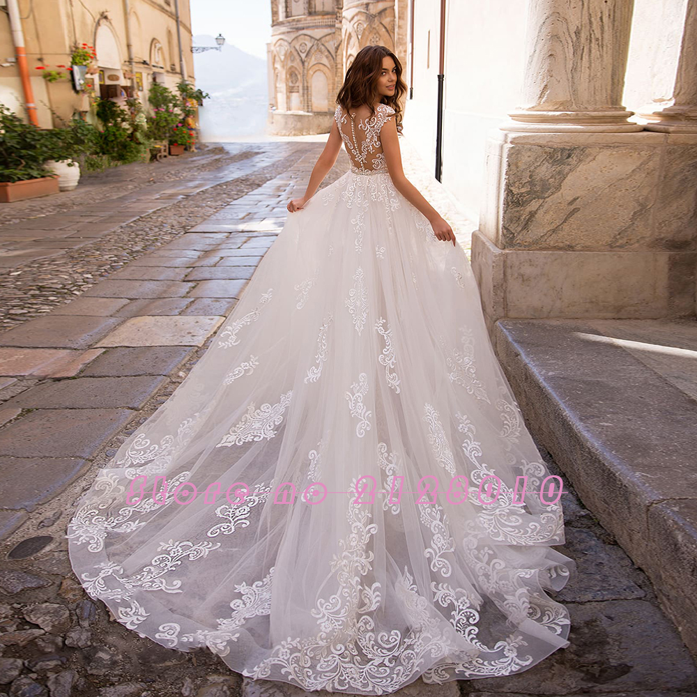 Image 2 - Appliques Lace Mermaid Wedding Dresses With Beading Crystal Removable Train 2020 China Shop Online Vestido De Noiva SereiaWedding Dresses   -