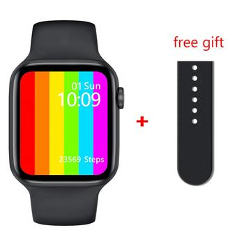 LEMFO IWO W46 Smart Watch Men 1.75Inch 320*385 Screen Body Temperature Heart Rate Monitoring Wireless charging Smart Watch
