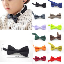 Bowtie Wedding-Accessories Neckwear Gift Butterfly Party Wholesale New Kid Classic Solid
