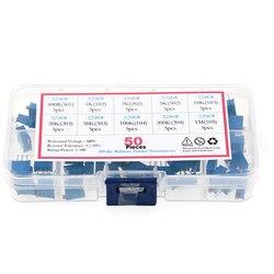 50Pcs/Box 3296W Multiturn Trimmer Resistance Potentiometer Kit