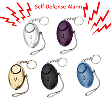 Alarm Keychain Protect Alert Self-Defense Personal Safety Girl Women Security Emergency