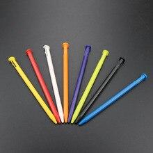 TingDong 100 adet/grup çok renkli plastik ekran dokunmatik stylus kalem yeni Nintendo yeni 3DS
