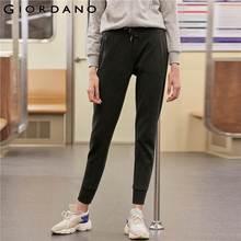 Elastic Pantalones Women Blend