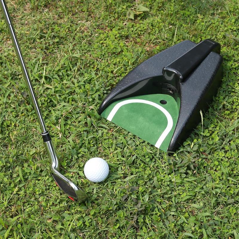 Golf Ball Kick Back Automatic Return Putting Cup Device Training Aid Automatic Return Putting Cup