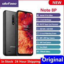 Ulefone Note 8P Global-Version 16GB 2GB LTE/WCDMA/GSM Face Recognition New Smartphone