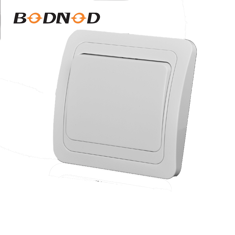 Light Switch One Gang Switch White Color European Inset Wall Switch DIY 10A 250V Legrand Schneider Livolo(China)