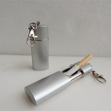 Export Environmentally Friendly Ashtrays with Keychain Mini Metal Portable Retractable