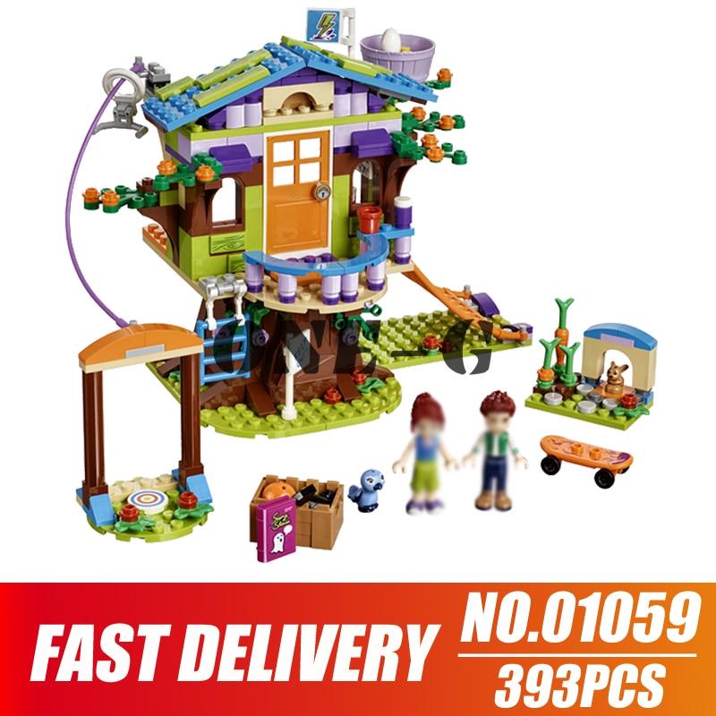 Building Blocks Mia's Tree House 10854 356pcs Compatible Legoinglys Friends Girl Bricks Princess Figures Toys For Children