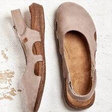 Summer Women Casual Flat Sandals New Buckle Hot Gladiator Retro Non-slip