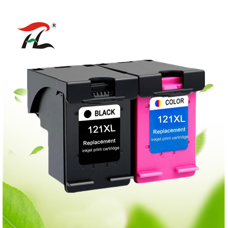 Compatible 121XL for hp121 for <font><b>hp</b></font> <font><b>121</b></font> XL ink cartridge Deskjet D2563 F4283 F2423 F2483 F2493 F4213 F4275 F4283 F4583 image