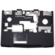 купить New Original Laptop Palmrest Upper Case For DELL Alienware M17X R3 R4 Palmrest Shell WMCFH 0WMCFH Black дешево