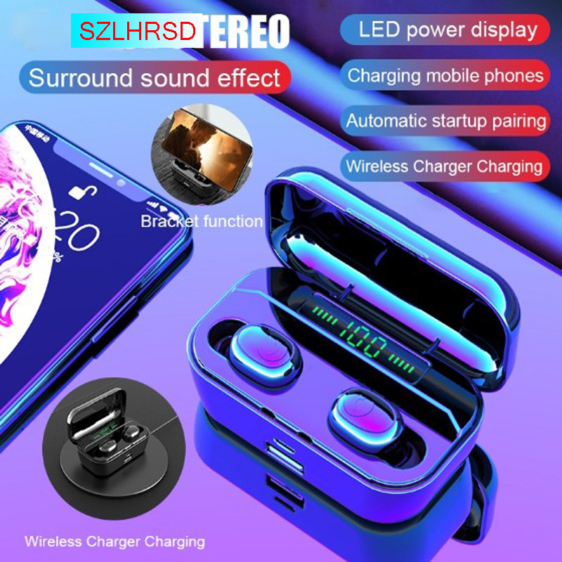 Bluetooth Earphones Doogee Oukitel LeTV LeEco Umidigi Leagoo Wireless Headphone Earbud with Charging Box +Mic Phone Accessory