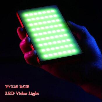 Ulanzi 120 Beads RGB Led Video Light On-Camera Light for Canon Nikon Sony DSLR Photography Studio Light Phone Vlog Fill light