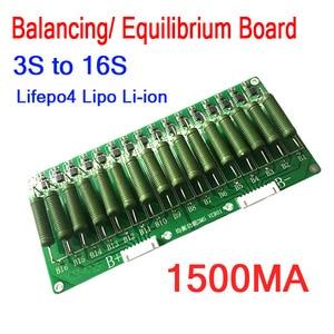 3S To 16S High Current Lithium Battery Balance Board 60V 48V 1.5A balancing Equalizer Lifepo4 Li-ion 12V 24V 4S 7S 8S 10S 13S(China)