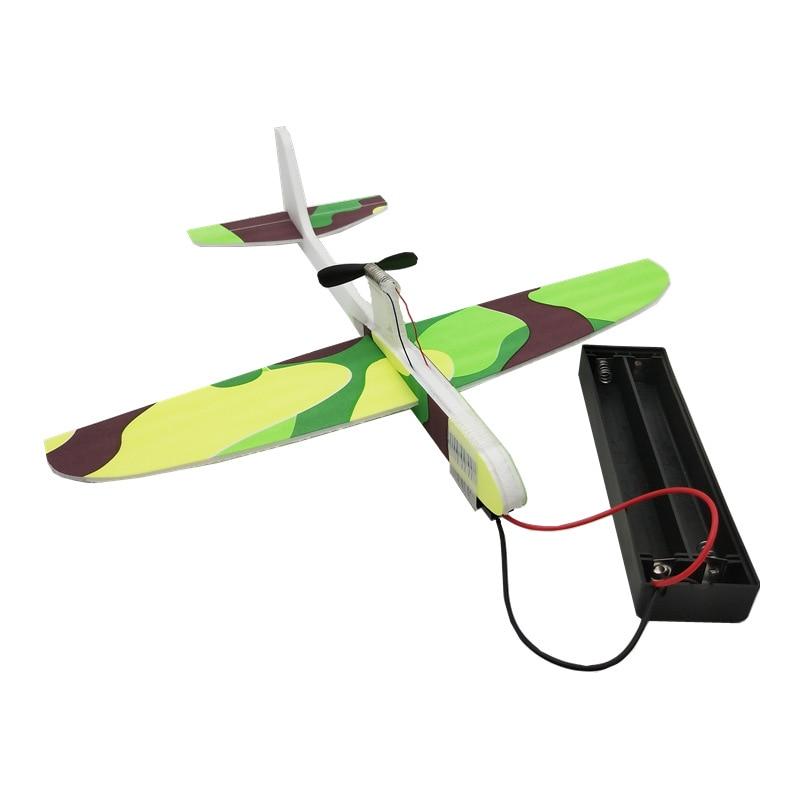 Condensateur d'avion électrique, lancement à la main, planeur, mousse à inertie EVA, jouet modèle d'avion, jouet d'extérieur, nouveauté 1