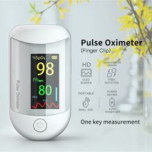 Finger Pulse Oximeter Blood Oxygen Heart Rate Portable Meter Oximetro Monitor Profesional Medical Accessories