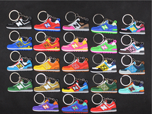 2020 New Cute Mini Silicone New 574 Shoes Keychain Men and Woman Kids Sneaker Key Ring Gifts Porte Clef Key Chain mini silicone sply 350 v2 shoes keychain woman bag charm men kids key ring gift sneaker key chain acessorios porte clef