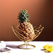 Wire Baskets Trays Desktop-Organizer Dining-Table-Decor Living-Room Nordic Drain Metal