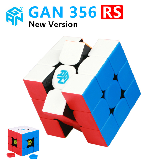 GAN356 X 3x3x3 magic magnetic speed cube professional gans puzzle gan354 M magnets 3×3 cube gan 356 RS