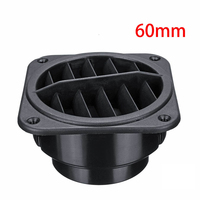 60mm Car Air Vent Outlet flat Diesel Heater Air Heater Ducting 6cm fit For Webasto Eberspacher Diesel Parking Heater|Heater Parts| |  -