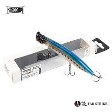 Reino popper wobbler iscas de pesca 90mm 7.5g 110mm 12.8g 123mm 18.5g topwater lápis isca de pesca flutuante jerkbait para poleiro