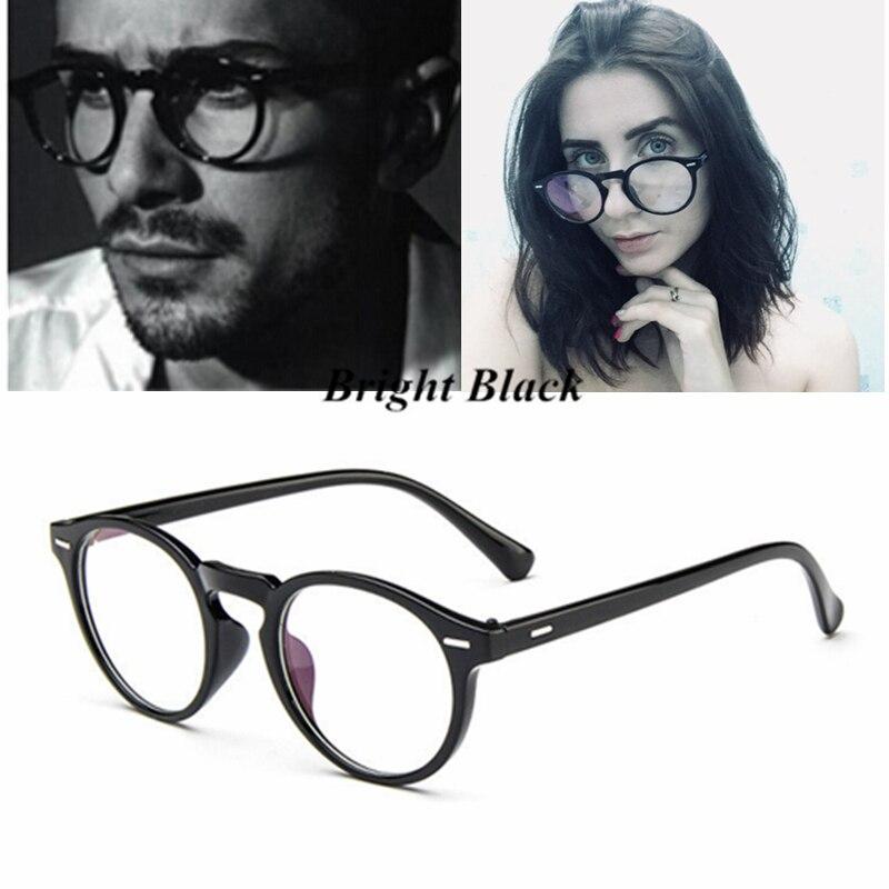 Kottdo Vintage Retro Round Eyeglasses Frame Women Prescription Glasses Men Optical Eye Glasses Frame Eyewear Glasses Frame