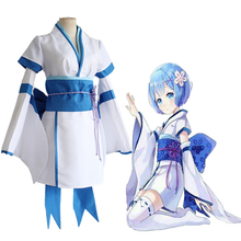 Anime Re ZERO Starting Life in Another World Cosplay Costumes Ram Rem Zero Kara Hajimeru Isekai Seikatsu Costume
