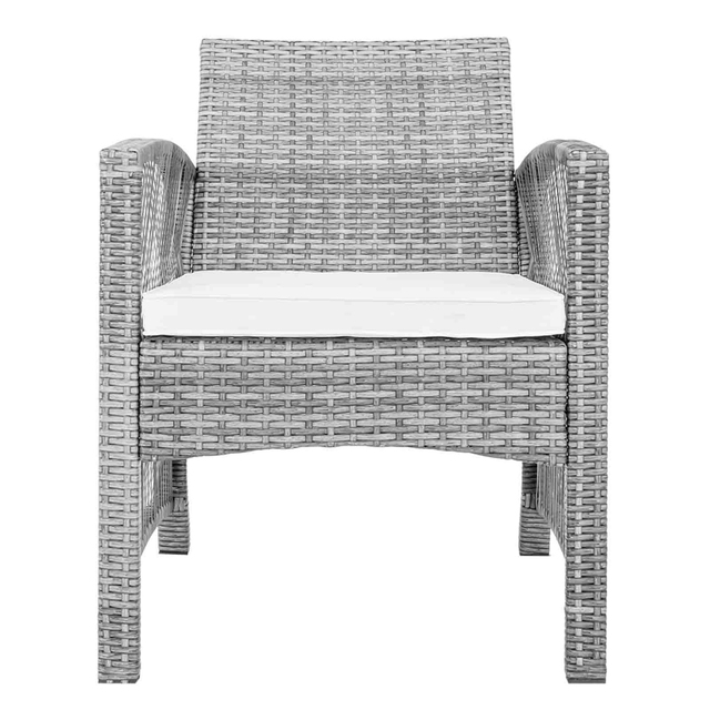 8 Pieces Outdoor Furniture Rattan Chair & Table Patio Set  4