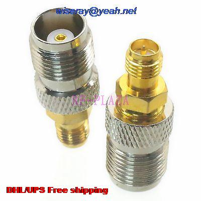 DHL/EMS 200pcs Adapter TNC Female To RPSMA Female Straight RF COAXIAL With One Year Warranty -a4