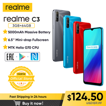 Realme Helio P70 64GB 3GB LTE/GSM/WCDMA Adaptive Fast Charge Bluetooth 5.0 Octa Core