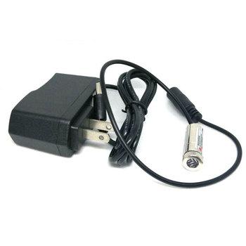 Pozycjonowanie z możliwością ustawiania ostrości światła LED 650nm 5mw skupić się punkt krzyż czerwona dioda laserowa moduł Adapter AC światła dj-skie o średnicy 12mm tanie i dobre opinie Jolooyo CN (pochodzenie) Stage lighting effect Mini 650MC-5-1230-AC-ADPT Profesjonalne stage dj