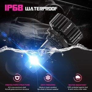 Image 5 - Novsight Super jasny H4 żarówka LED H7 H11 H8 HB4 HB3 zarowki led samochodowe 50W 10000LM 6500K ledy samochodowe12V