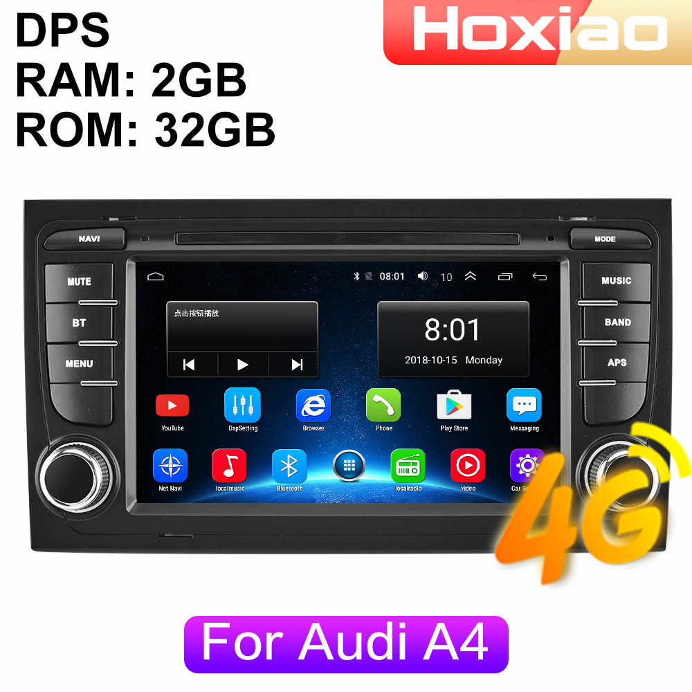 4G Android Autoradio Multimedia Video Player Per Audi A4 B6 B7 S4 B7 B6 RS4 B7 SEAT Exeo 2002-2008-2006-2012 di navigazione GPS 2din