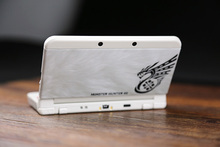 Glossy Protector Cover Plate Case Housing Shell for Monster Hunter 4G Case for Nintendo NEW 3DS Console