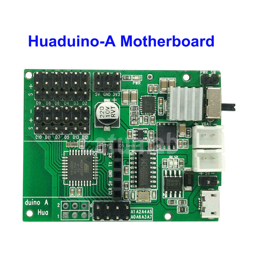 Latumab NEW For Huaduino-Arduino Board With Lithium Battery To Turn On And Load