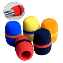 10pcs Windscreen Microphone Cover Studio Replacement Protective Thickened Dust Proof KTV Headset Handheld Cap Soft Sponge Foam(China)