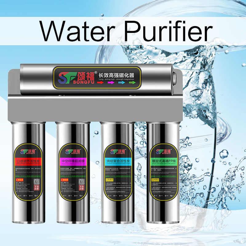 Бытовой водопроводной очиститель воды прямой питьевой машины из нержавеющей стали ультрафильтрационный очиститель воды