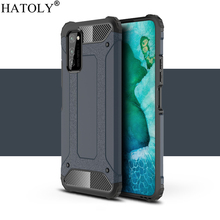 For Huawei Honor V30 Pro Case Anti-knock Rugged Hard Armor Cover Honor View 30 Pro Silicone Phone Bumper Case For Honor V30 Pro 2 1mm thick luxury bumper case for huawei honor v30 germany bayer material case honor v30 pro independent plating button cover