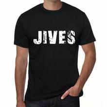 Jives masculino vintage impresso t camisa preto presente de aniversário 00553