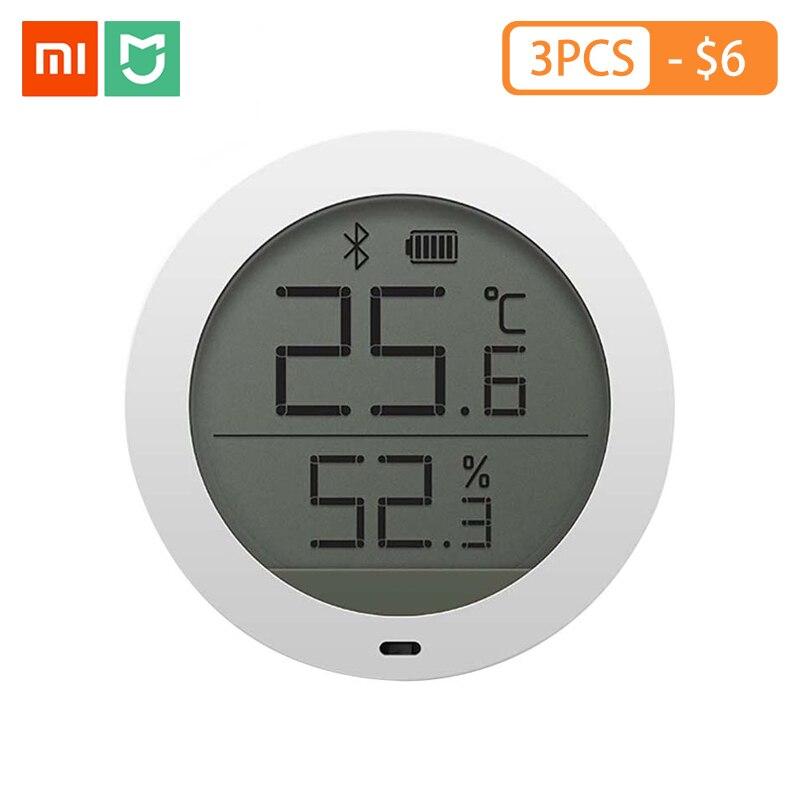Original Mijia Bluetooth Temperature Humidity Sensor LCD Screen Digital Thermometer Moisture Meter Support Mi Home APP