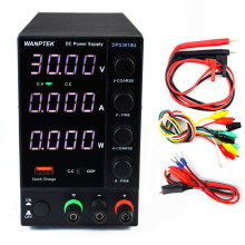 DPS3010U 30V 10A/DPS305U 30v 5A/DPS605U 60V 5A/300W Switching DC Power Supply 4 Digits Adjustable Mini Power Supply AC 110V/220V