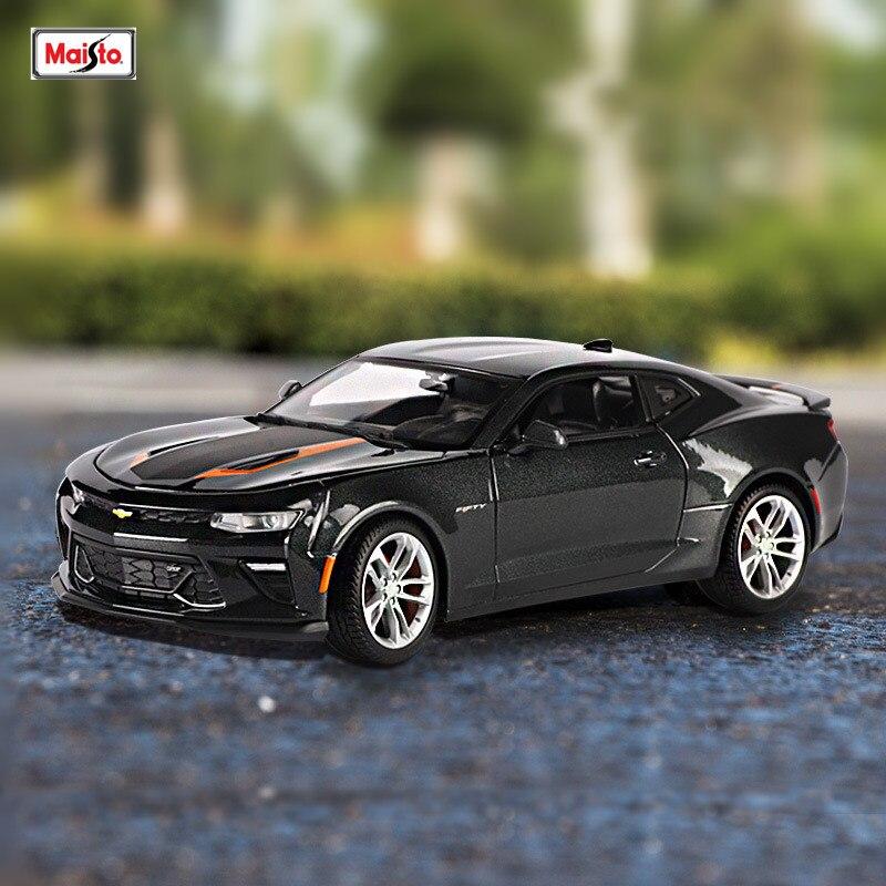 Maisto 1:18 Chevrolet спортивный автомобиль сплав модель автомобиля моделирование автомобиля украшение коллекция Подарочная игрушка Литье под давл...