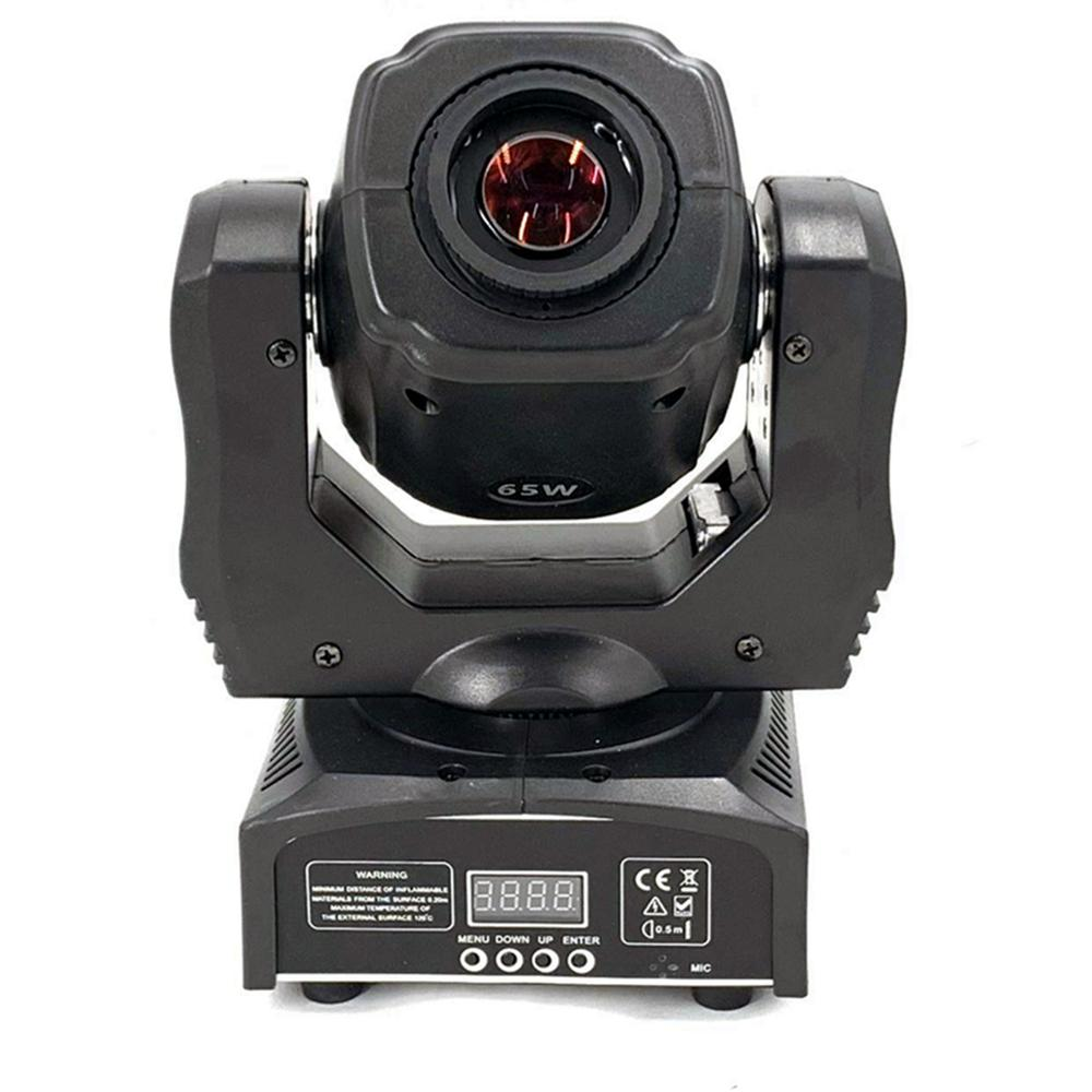 Led 65W Spot Moving Head Light  DMX512, Sound Active, Master/slave, Stand Alon DMX Stage Light 60W Mini