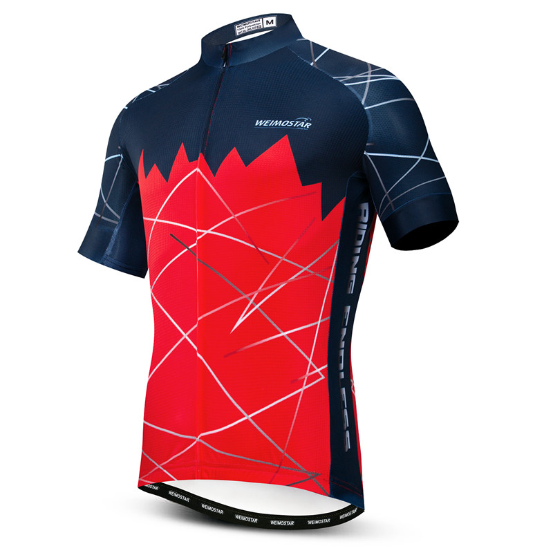 Bike Jersey Bicycle Sports Weimostar MTB Summer Ropa Breathable Men Quick-Dry